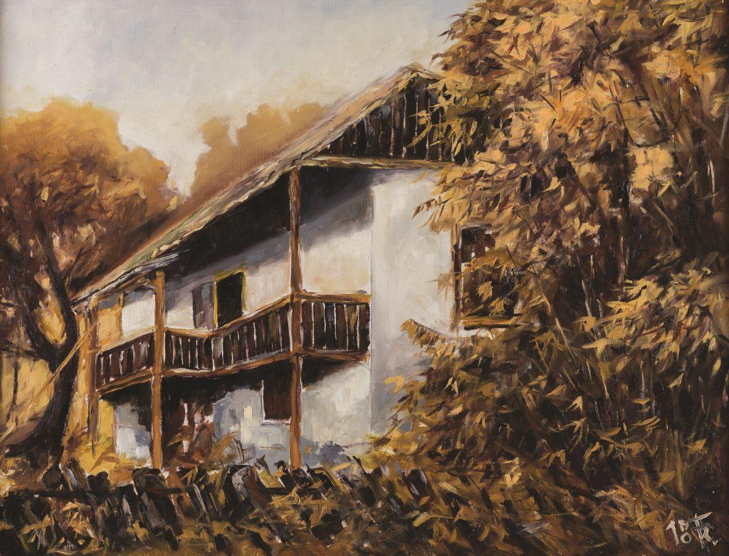 Elhagyott erdei ház
