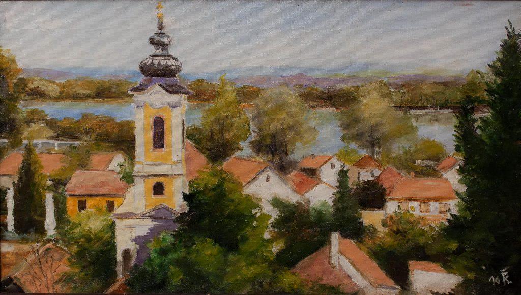 Szentendrei tájkép II.