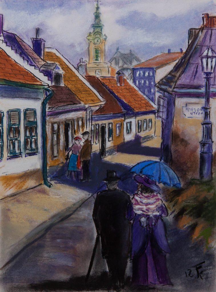 Vasárnap délutáni séta a Horgony utcában