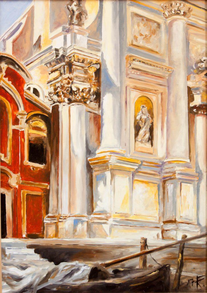 Velence, San Stae templom részlet