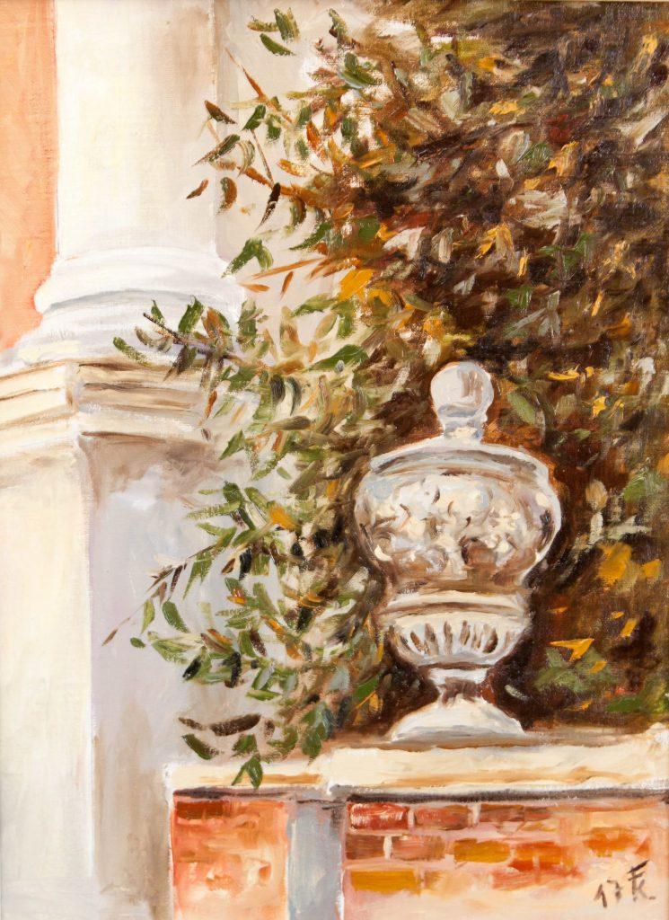 Velence – kertrészlet