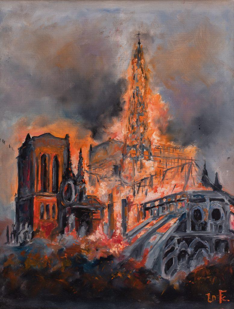 Notre Dame égése